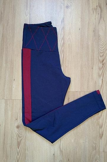 Calça legging com faixa Lauf - M