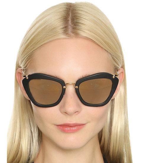 Óculos de sol espelhado Miu Miu