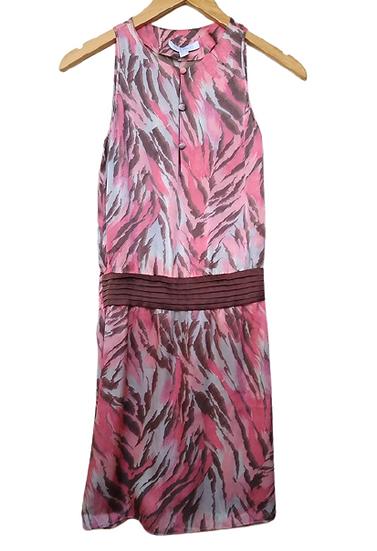 Vestido de seda estampada Carlos Miele - 36