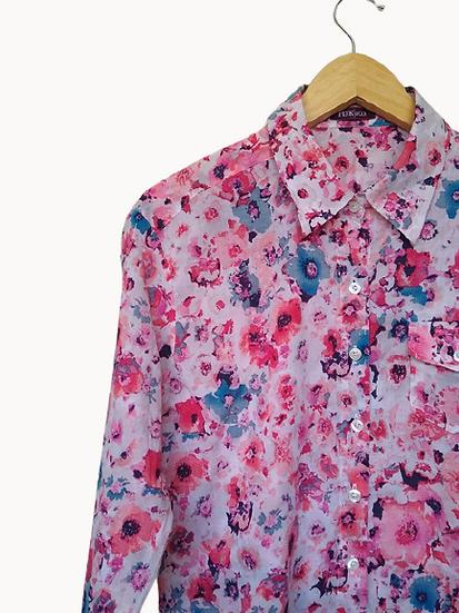 Camisa floral Pink & Co. - M