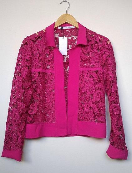Jaqueta de renda cereja UH.Premium - 42
