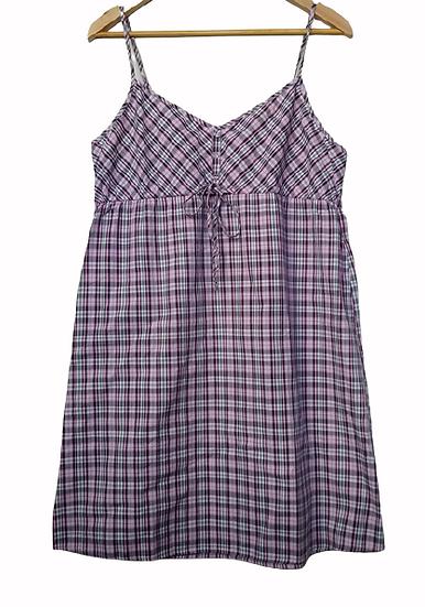 Vestido de alcinhas xadrez GAP - G