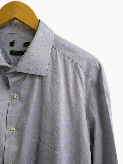 Camisa de algodão maquinetado Brooksfield - 7