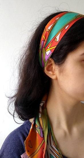 Faixa de cabelo multicolorida Scarf Me
