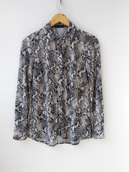 Camisa animal print Costume - P M