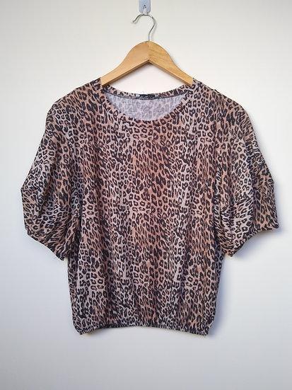 Blusa animal print Zara - P M