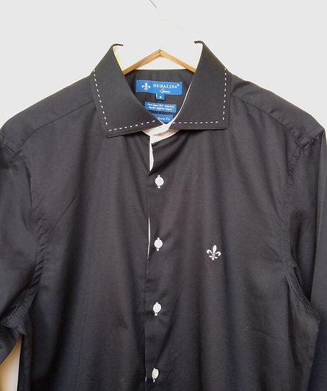 Camisa preta Dudalina - 4