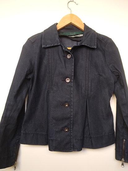 Casaquinho jeans Espaço Fashion - M