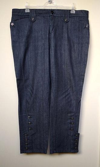 Calça jeans capri Rubinella - 48