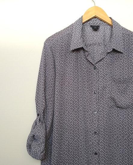 Camisa pintinhas Ann Taylor - GG GGG