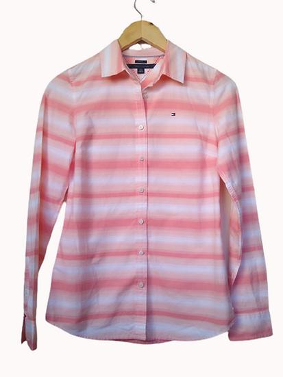 Camisa listras degradé Tommy Hilfiger - PP