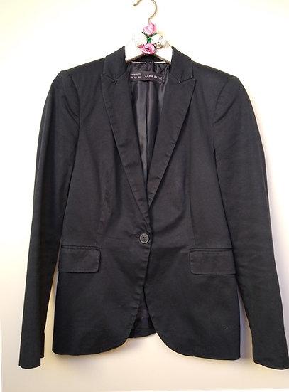 Blazer preto clássico Zara - M P