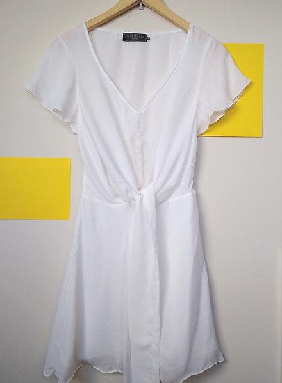 Vestido com amarração Ellus - P
