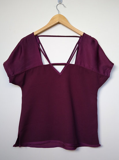 Blusa decote vazado Shoulder - PP P