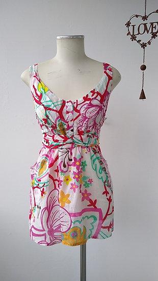 Blusa alças floral Zara - M
