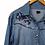 Thumbnail: Camisa jeans bordada Sacada - 40 42