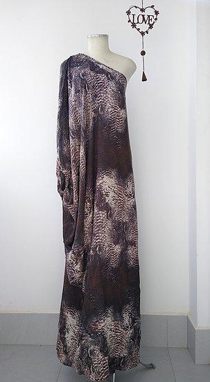 Vestido longo cobra TVZ - 42 44
