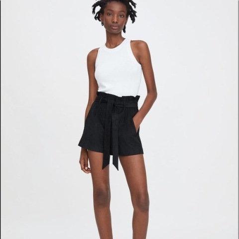 Shorts clochard suede Zara - 42