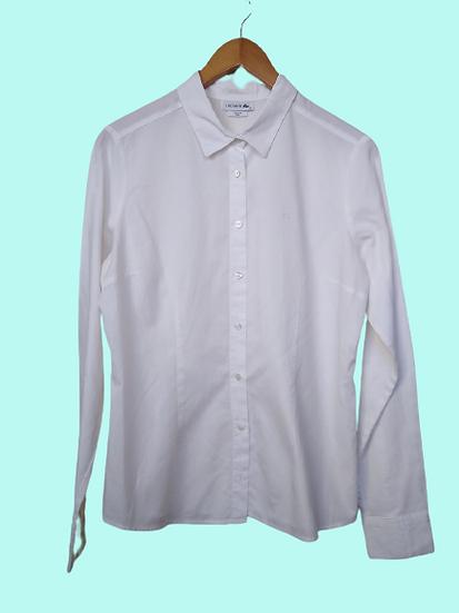 Camisa clássica branca Lacoste - 42
