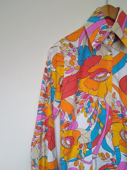 Camisa psicodélica Triton - M P