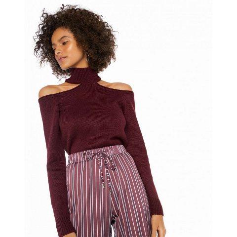 Blusa de ombros vazados Amaro - M