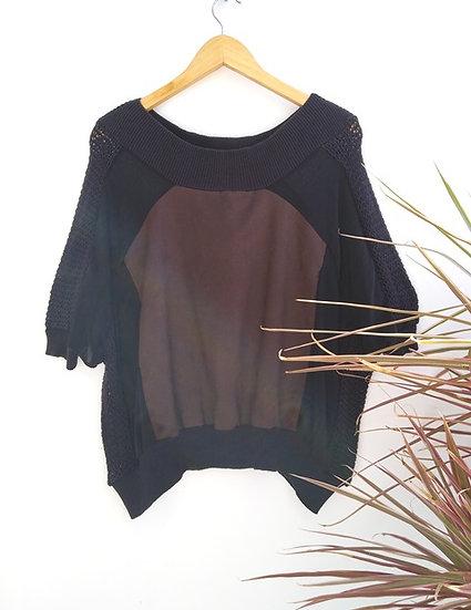 Blusa ampla Espaço Fashion - P M G