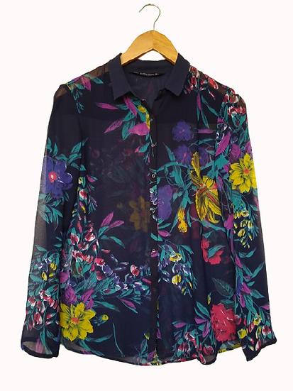 Camisa floral Zara - P