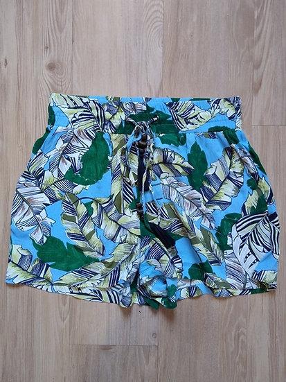 Shorts folhas Shoulder - P