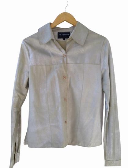 Camisa de pelica prata - 40
