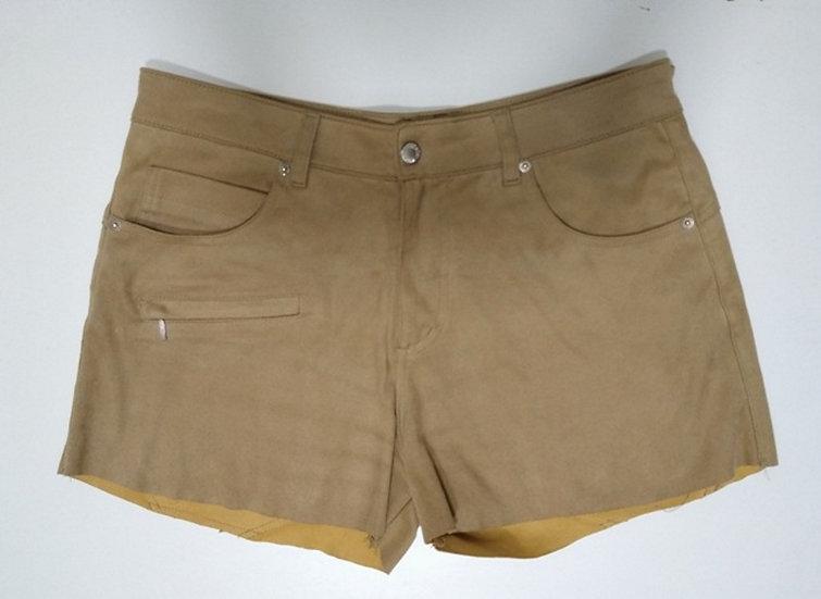 Shorts de suede Sacada - 42