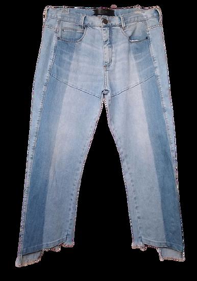 Calça jeans clara barra desfiada Animale - 38 42