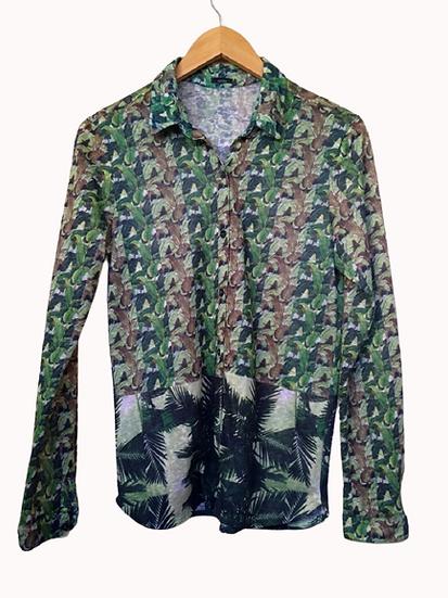 Camisa folhas Cantão - M