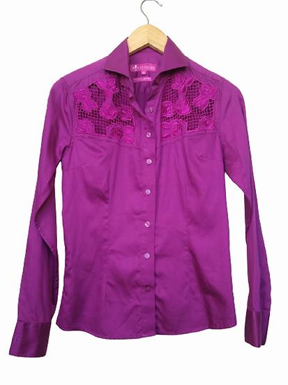 Camisa bordada Dudalina - 38