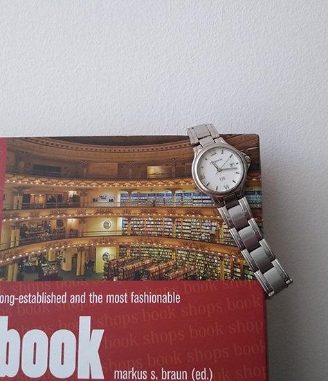 Relógio Technos pulseira de aço