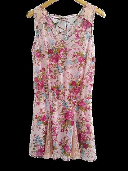 Vestido floral Costume - P