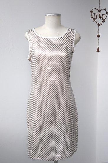 Vestido paetês Viviane Furrier - M