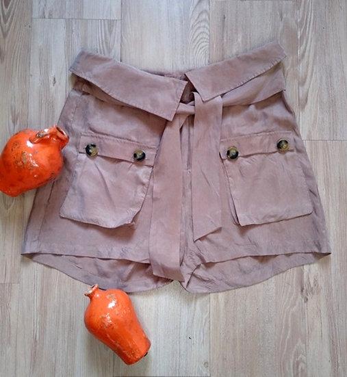 Shorts soltinho com bolsos Shoulder - 40