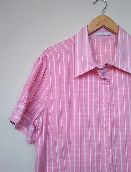 Camisa xadrez plus size Rubinella - 50