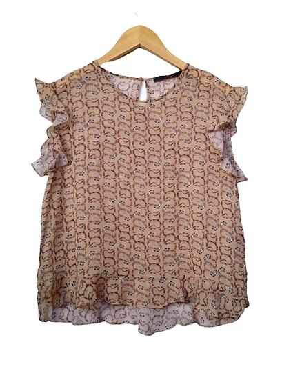 Blusa de seda cobrinhas Animale - 38