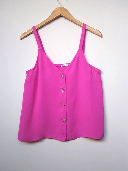 Blusa de alcinhas pink Oxo Paxo - G