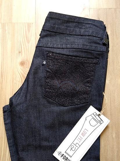 Calça black jeans skinny Forum - 42