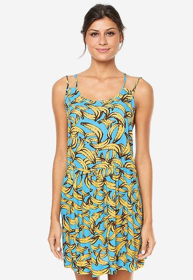 Vestido de alcinhas bananas Farm - P