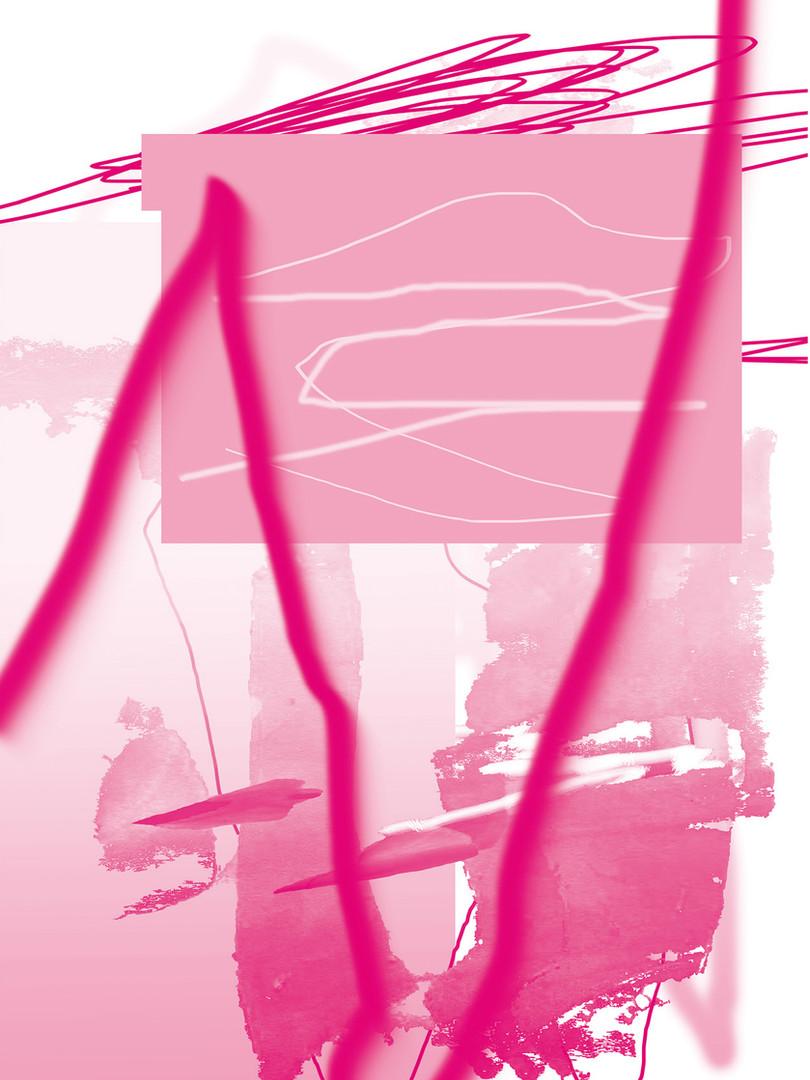 Carolin Israel | Pink Panther (postcard) | 2020