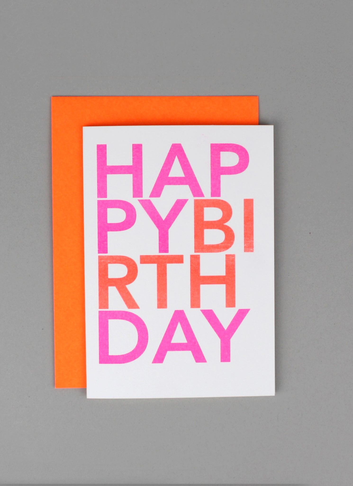 Happy Birthday - Typo
