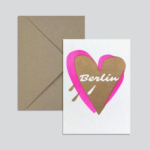 Grusskarte Love Berlin