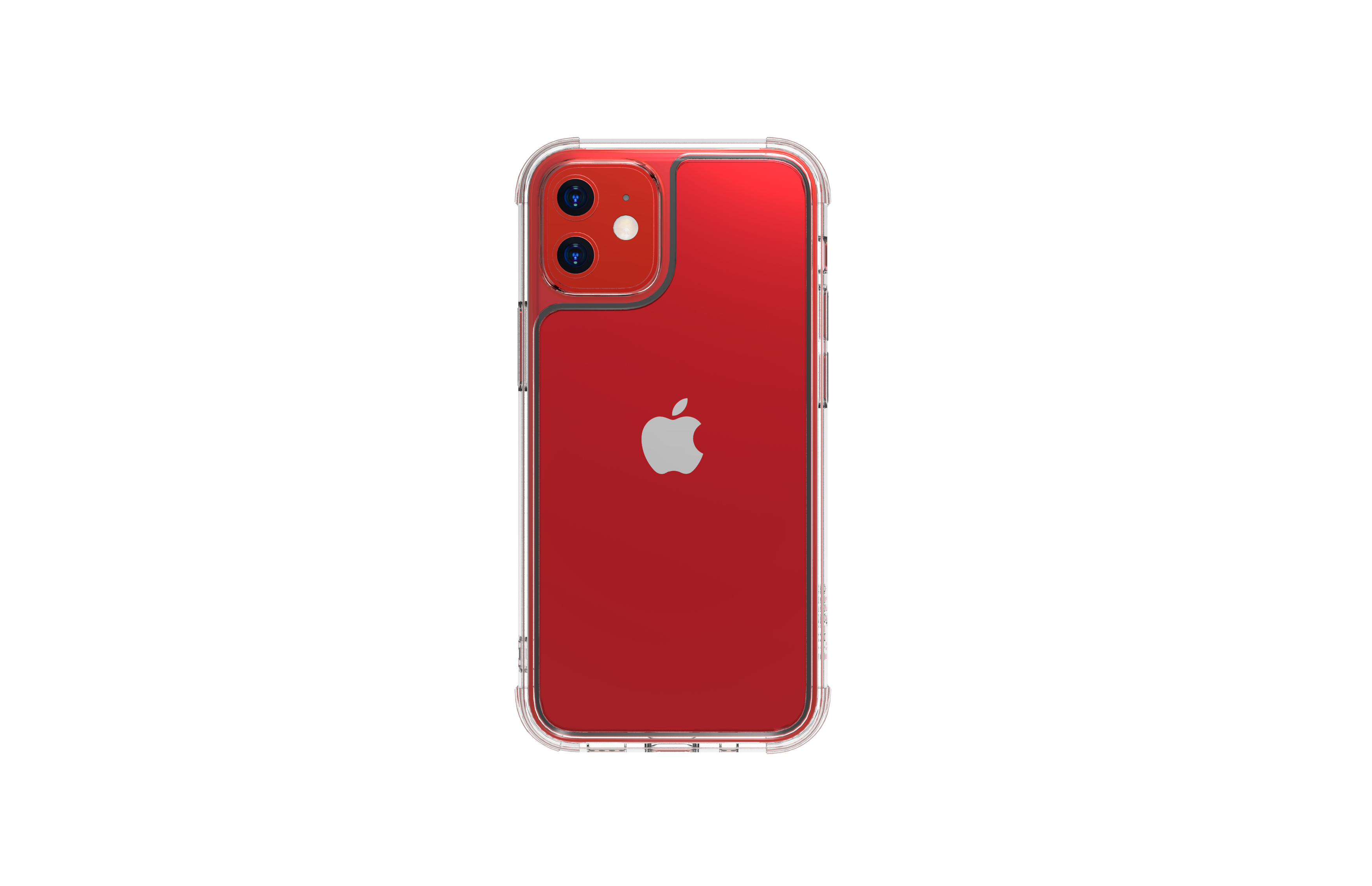 linkase air for iphone 12 mini / 12 red_view2