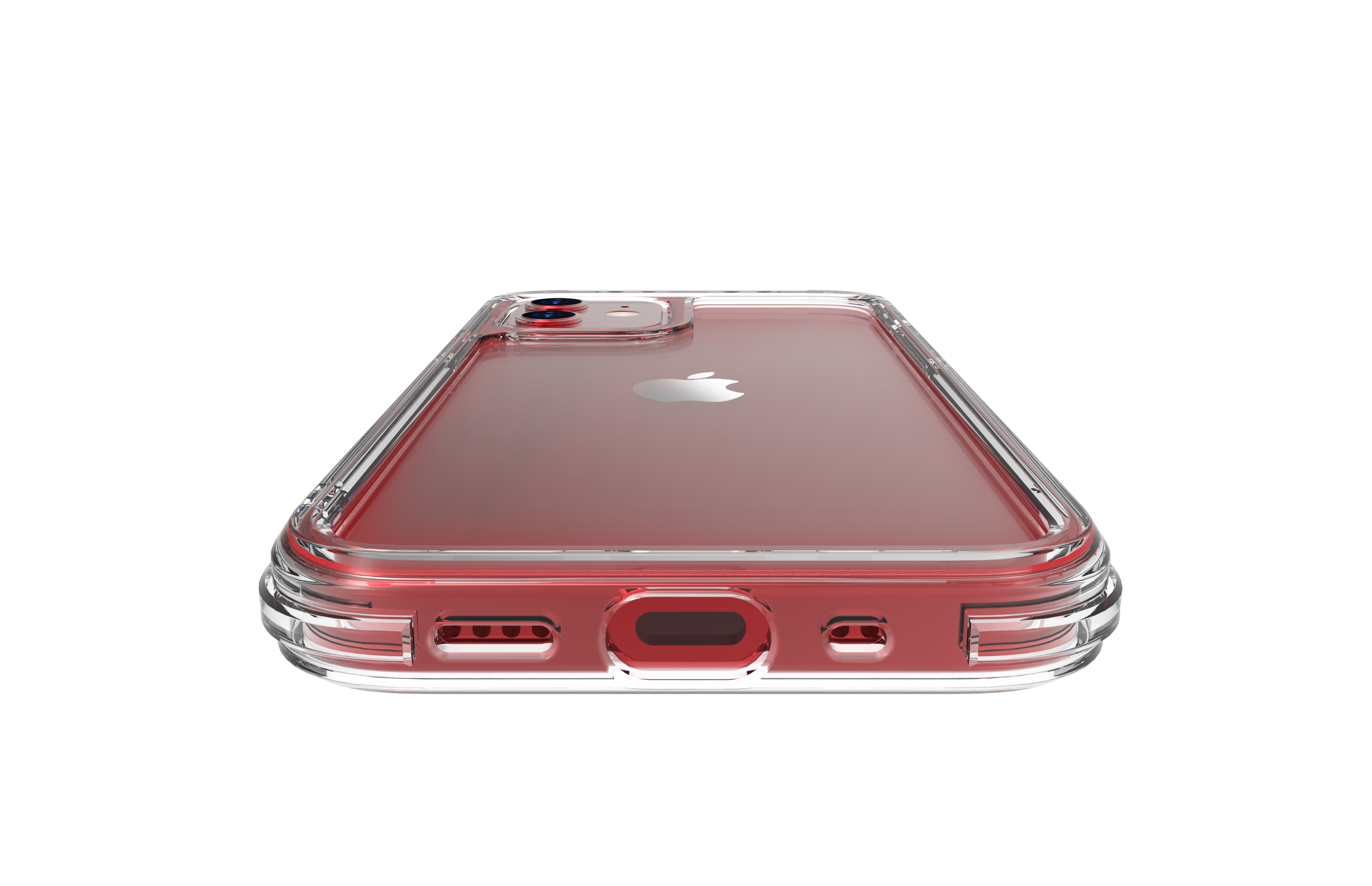 linkase air for iphone 12 mini / 12 red_view3