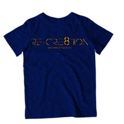 RE-CRE8TION (Crew Neck T-shirt)