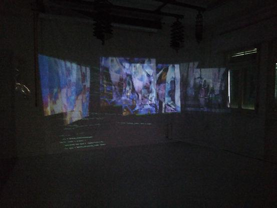 File corrotti, installazione artistica deep web di Chiara Bizzarra Giovanelli
