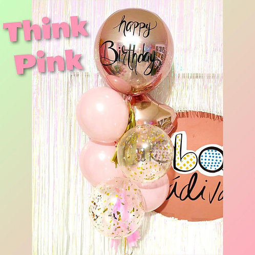 ramillete cumpleaños pink